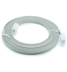 "UL TYPE 24AWG(7/0.20TC)*4C+AE GREY OD:3.05*6.70mm WITH""CL2、75℃"" L:3850+50/-0mm"