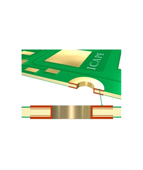 4 Layers ICAPE Printed circuit Board - Your online shop for PCB