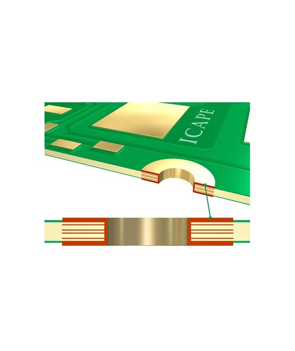 6 Layers ICAPE Printed circuit Board - Your online shop for PCB