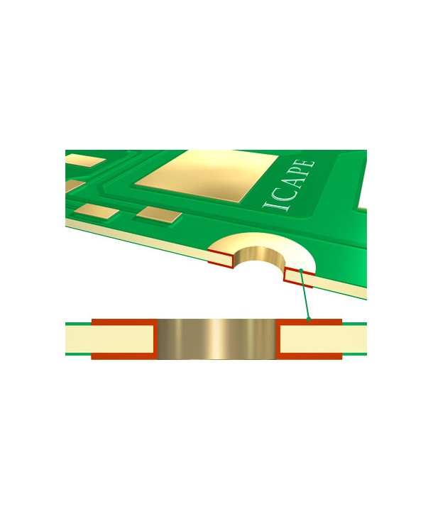 Double Side ICAPE Printed circuit Board - Your online shop for PCB